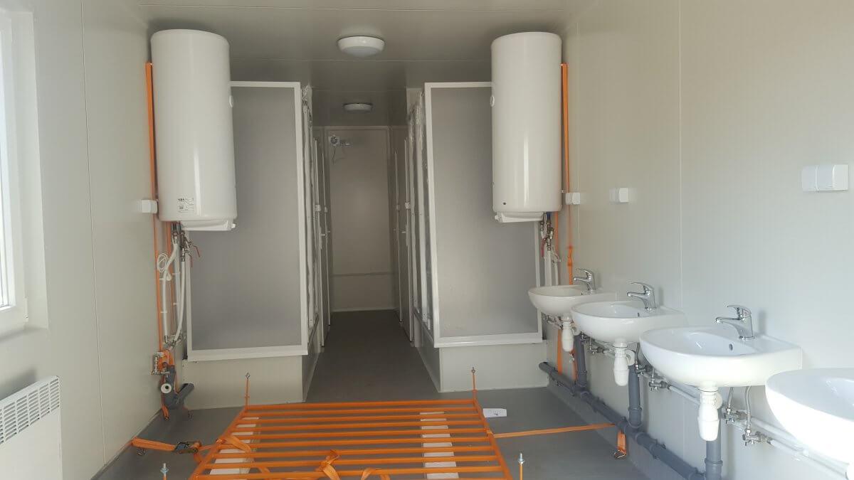 moduły sanitarne