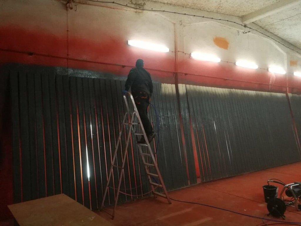 Malowanie dużych powierzchni i gabarytów Oława