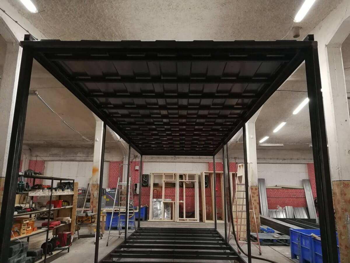 Piaskowanie i malowanie ram, zbiorników i kontenerów - Oława, Brzeg