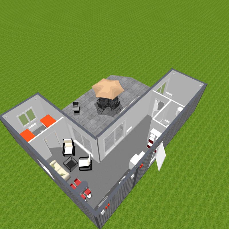Doemk z modułow idealny jako domek letniskowy lub całoroczny