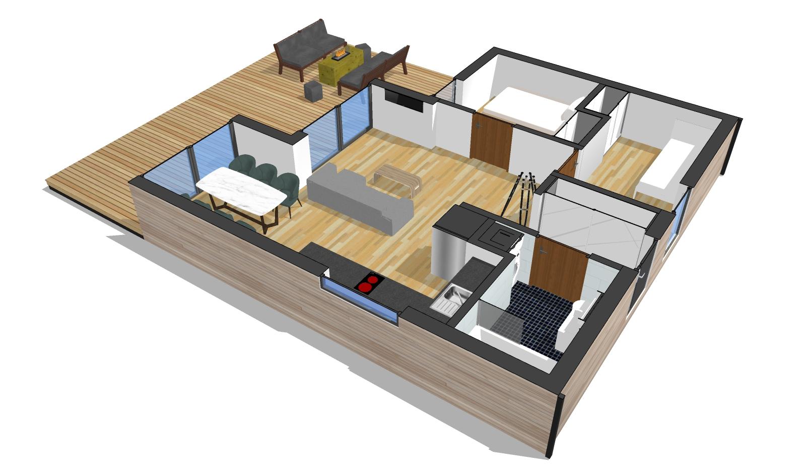 Domy modułowe w nowoczesnym stylu