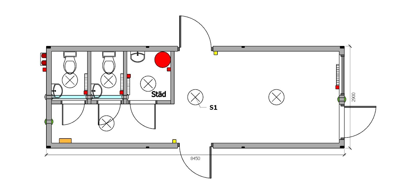 kontener - moduł startowy